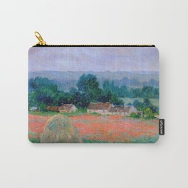 Claude Monet - Haystack At Giverny Carry-All Pouch