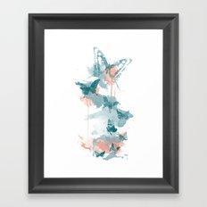 Butterflight Framed Art Print