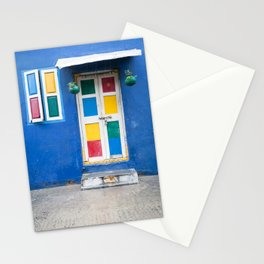Colorful Indian Door Stationery Cards