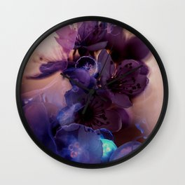 flower jelly Wall Clock
