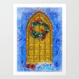 Singing Tower Carol Art Print