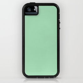 Sea glass Green, Solid Color Collection iPhone Case