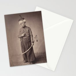 Vintage Photographic Print - M. Ducel, Mameluke de la Garde (1858) Stationery Cards
