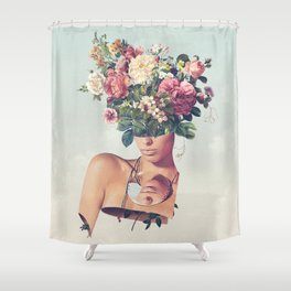 Flower-ism Shower Curtain