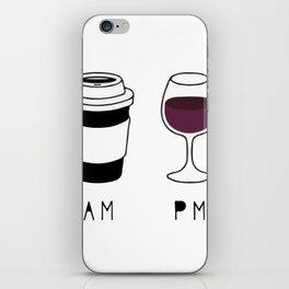 Coffee and Wine iPhone Skin