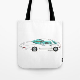 Fishtank Firebird Tote Bag