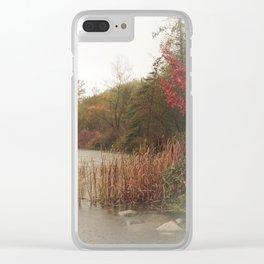 Deer Lake Decrescendo Clear iPhone Case