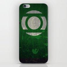 Green Lantern iPhone & iPod Skin