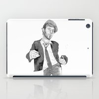 tom waits iPad Cases featuring Tom Waits: The Early Years by Andy Christofi