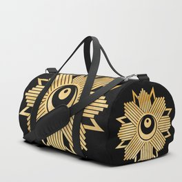 Graphic 960 // Gold Eye Star Deco Duffle Bag