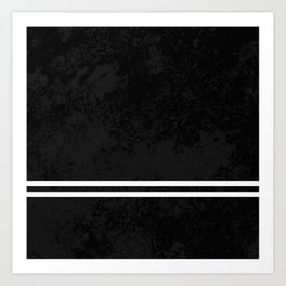Infinite Road - Black And White Abstract Art Print