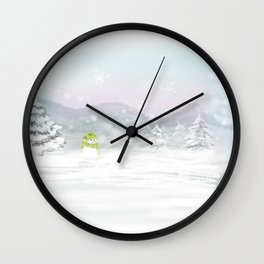 New Year, New Life Wall Clock