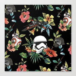 The Floral Awakens Canvas Print