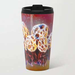 Balls and Cones  Abstract Travel Mug