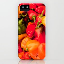 Kitchen Still Life: Hot Peppers iPhone Case