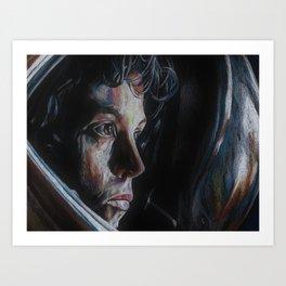 Ripley from Aliens Art Print