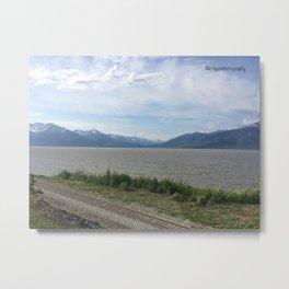 Alaskan View Metal Print