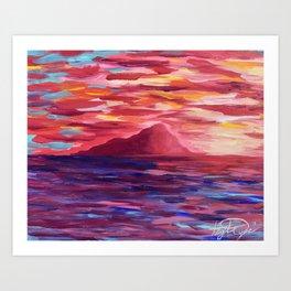 Ischia Island Art Print