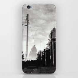 Ghostly Lines iPhone Skin