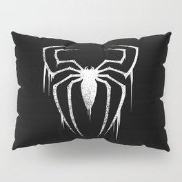 White Spider Symbol Pillow Sham