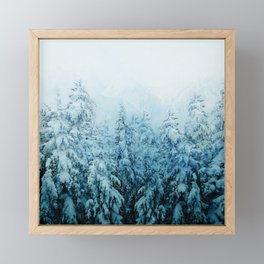 Winter Forest Framed Mini Art Print