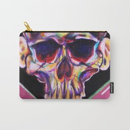 skull with ears Carry-All Pouch