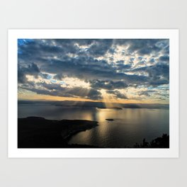 View to Behold Art Print
