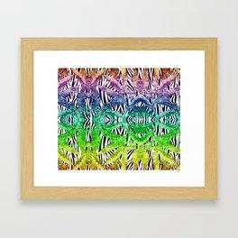Exotic palms Framed Art Print