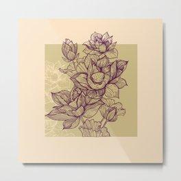 Lotus flower colors Metal Print