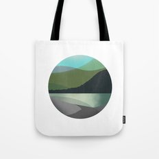 Calm Marble Landscape Tote Bag
