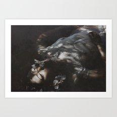 drowning 4 U Art Print