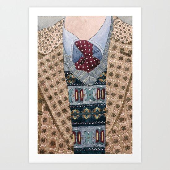 Pattern Dapperness Art Print