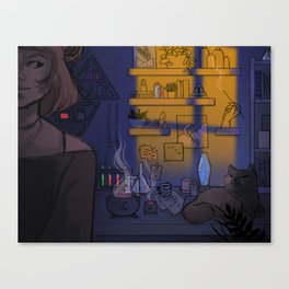 chimeralab Canvas Print
