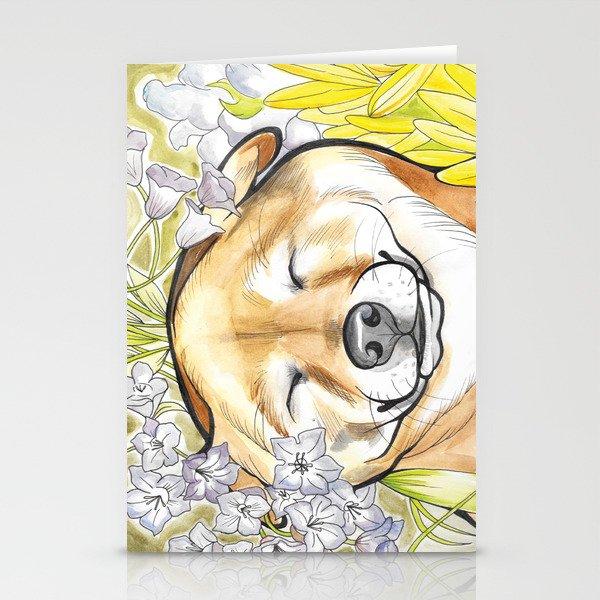 Jay Jay the happy Shiba Stationery Cards