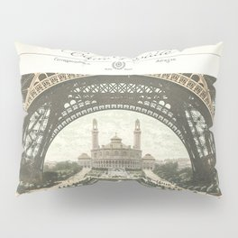 Paris Postcard #2 by Murray Bolesta Pillow Sham