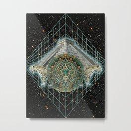 Templo Maya  Metal Print