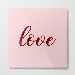 Love Valentines Day Art N21018 Metal Print