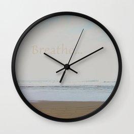 Breathe... Wall Clock