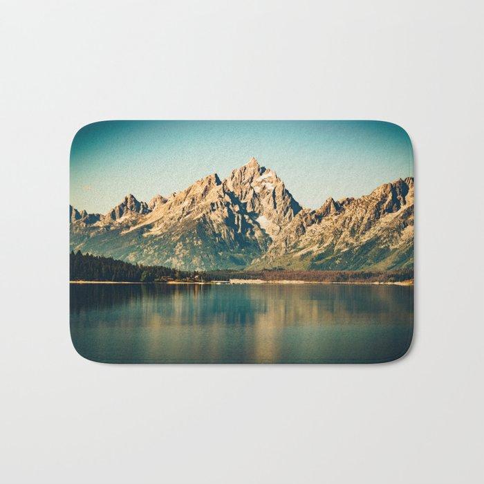 Mountain Lake Escape Bath Mat