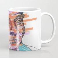 gentleman Mugs featuring Gentleman by Belovediesel