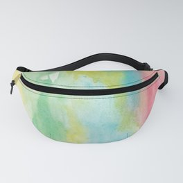 Stroke of soft colours Fanny Pack