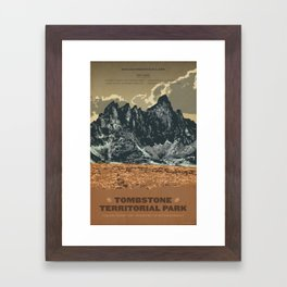 Tombstone Territorial Park Framed Art Print