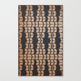 Weaved Mat Canvas Print