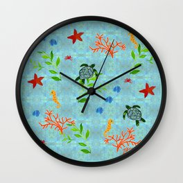 zakiaz enchanted sea Wall Clock