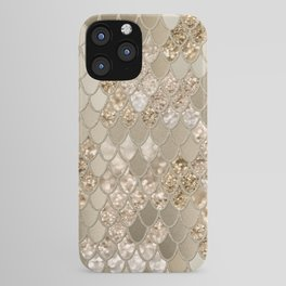 Mermaid Glitter Scales #5 (Faux Glitter) #shiny #decor #art #society6 iPhone Case