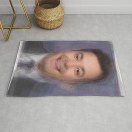 Jimmy Fallon Portrait Overlay Rug