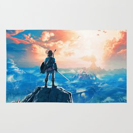 Zelda Breath of the Wild Rug