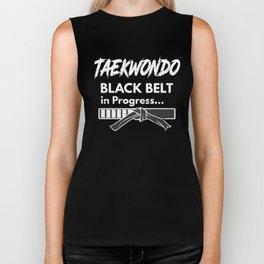 Taekwondo Black Belt in Progress Korean Martial Art Biker Tank