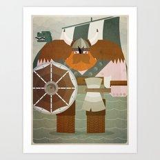 viking 2 Art Print