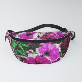 Petunia's behind the screen... Fanny Pack